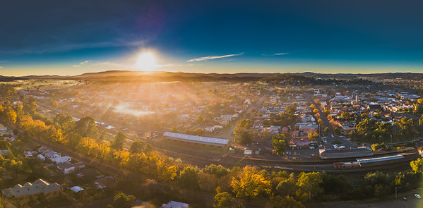 Castlemaine Aerial and Stock Imagery