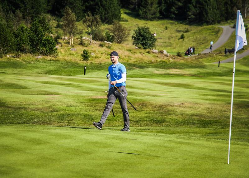 Björn Öder Ólason.  Íslandsmót golf 2019 Grafarholt - 1. keppnisdagur. Mynd: seth@golf.is