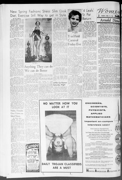 Daily Trojan, Vol. 47, No. 94, March 13, 1956