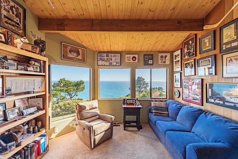 Media Room with Ocean Views