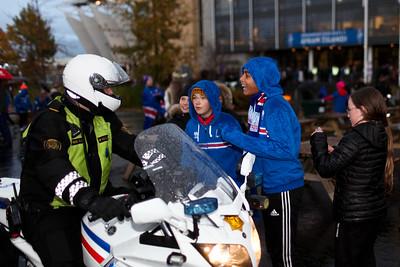 Ísland Kósóvó 9. október 2017