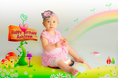 Ashlynn is ONE!