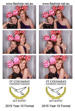 St Columba's Year 10 Formal - 20 November 2015