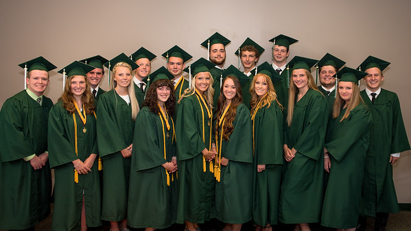 North Asheville Christian School Graduation 2016 Students
