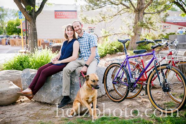 Martina & John Color Engagement Photos