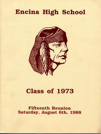 Encina Class of 1973: 15 year reunion photobook