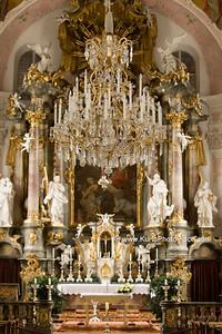 Oberammergau  Catholic Parish Church & Cemetery