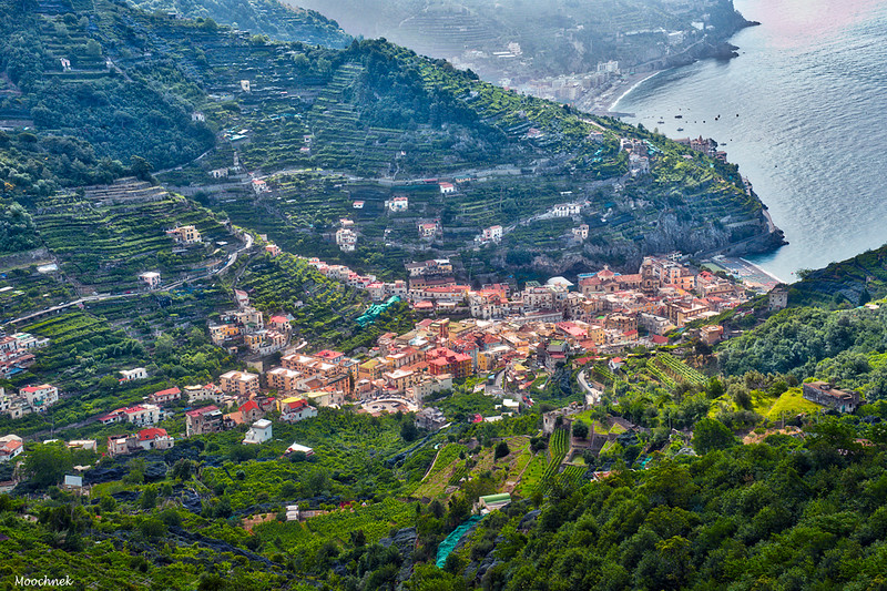 The Town of Minori on the Amalfi Coast