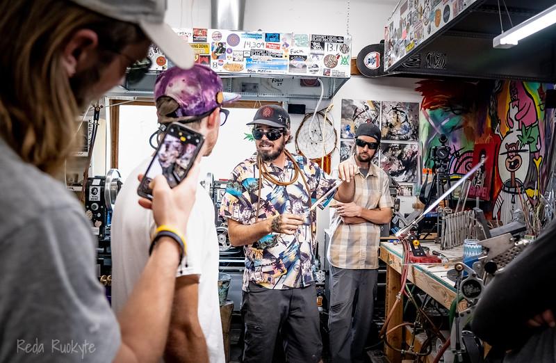 Mug Mania, Jason Gordon at Drinking Vessels Studio