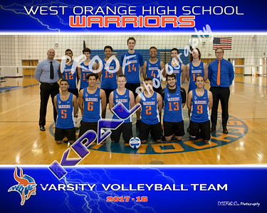 2017-18 Boys Volleyball