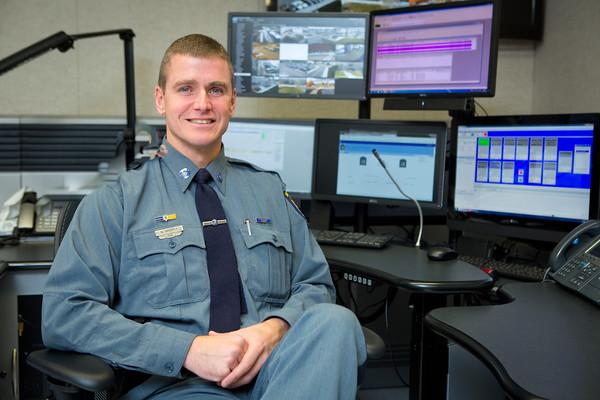 14261 UB Police, Brian Horst, Portrait, Bissel Hall