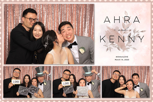 Ahra & Kenny Wedding Prints