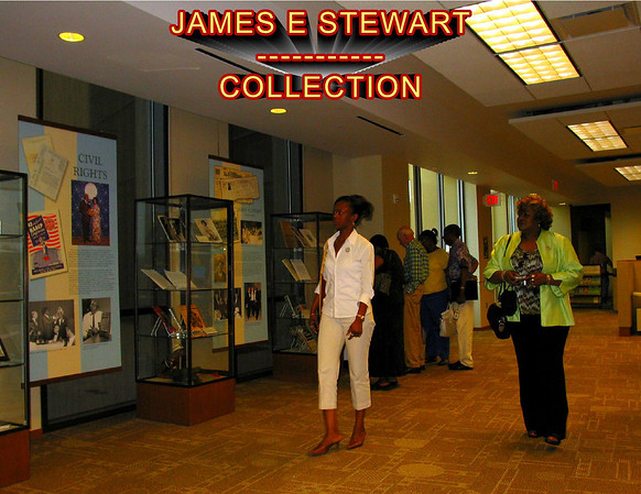 James E. Stewart, Sr.'s over 10,000 papers, pictures, videos, recording, letters, speeches, minutes of NAACP meetings of the thirties and forties, his personal accounts of Montford Point Marine history, national and community leaders, the history of the civil rights movement of Oklahoma are included in the Oklahoma Historical Society Archives.