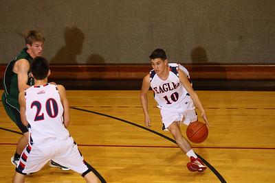 RCS Boys' Varsity Basketball vs Head Royce - Jan 25 2011