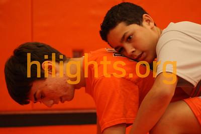 wrestling practice 12-14