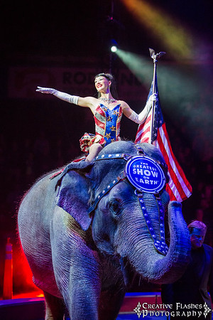 Ringling Brothers Circus 2015 in Everett