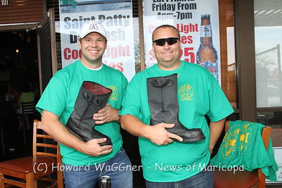 Fill the Boot for MDA at O'Shay's 3-17-2012