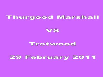 Thurgood Marshall Vs Trotwood 19Feb2011 Photos