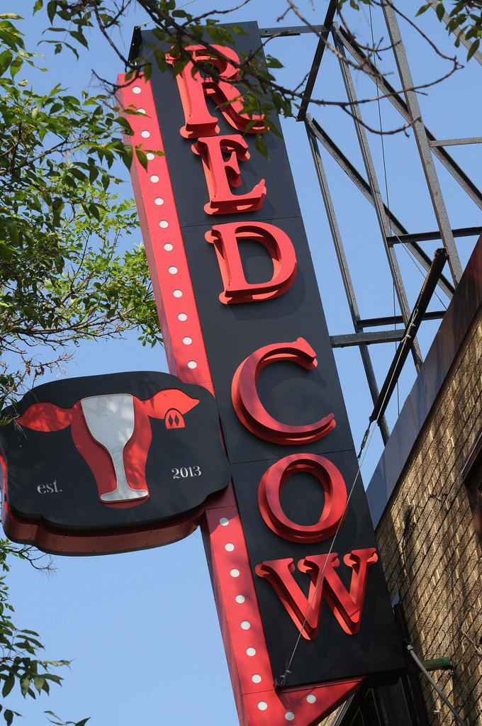 . The restaurant�s second location, in the old Costello�s on Selby Avenue in St. Paul�s Cathedral Hill neighborhood, is a slick, stylish spot that neighbors seem to have embraced quickly. The first Red Cow is near 50th and France in Minneapolis. (Pioneer Press: Scott Takushi)