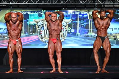 Men's Bodybuilding Masters 40+ WW