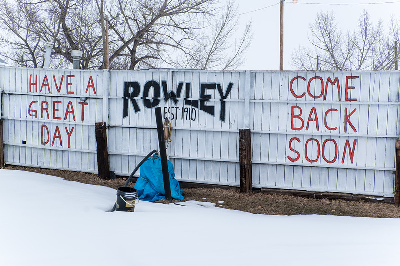 Fence In Rowley