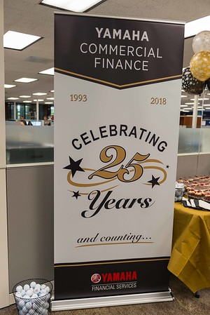 Yamaha Commercial Finance 25 Years - Jan 26, 2018