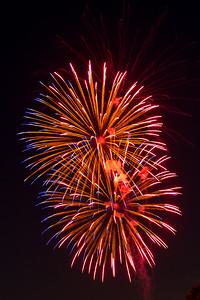 Lakefair Fireworks July 21, 2013