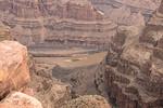 Colorado River, Grand Canyon. Da unten waren wir eben noch….