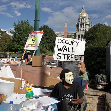 Denver Occupy Demonstratie