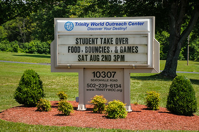 Trinity World Outreach - Student Take Over 8-02-2014