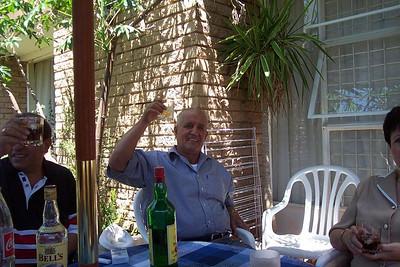 Lunch At Anwar and Katia 2003