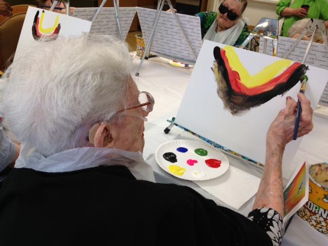 Euclid Pavilion Painting Party 6-27-2016