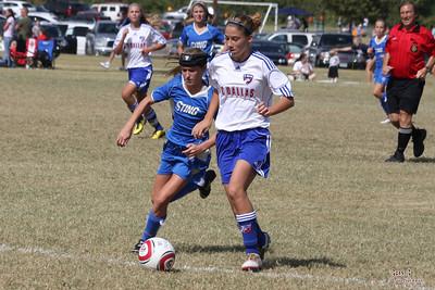 Fall2010 LHGCL - Sting 98 vs FC Dallas (10/16/2010)