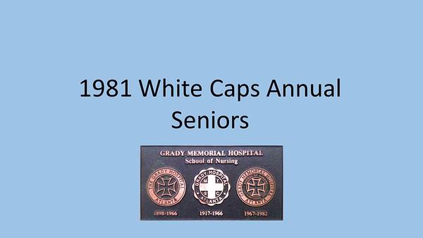 1981 White Caps Yearbook