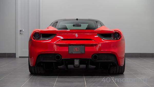 '18 488 GTB - Rosso Corsa