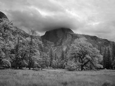 First Evening at Yosemite IR 2014