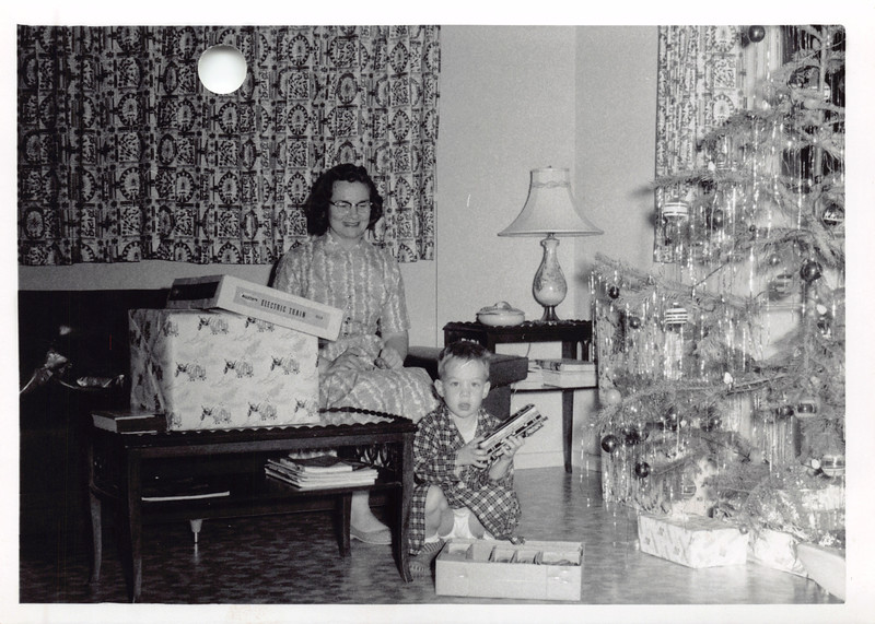 Frankie, David, Christmas