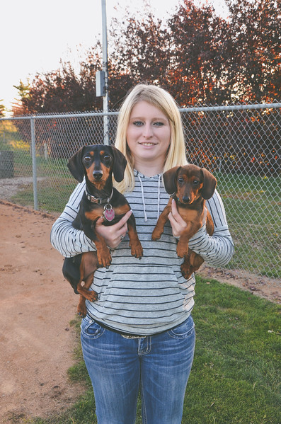 Megan & Her Pups