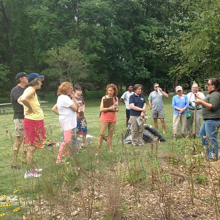 9.17.2016 Rain Garden Workshop at Benjamin Banneker Historical Park and Museum