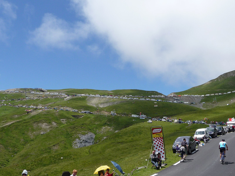 This is the longest (and loudest) 1km ever. Location - Col du Tourmalet