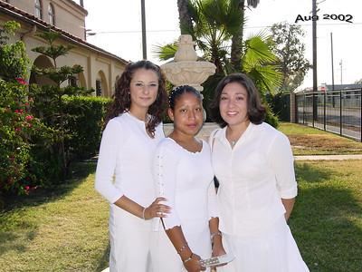 Missionnettes Graduation 2002