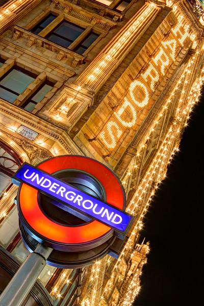 The Underground At Harrods