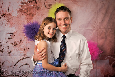 March 7, 2015 - Father Daughter Dance Portraits