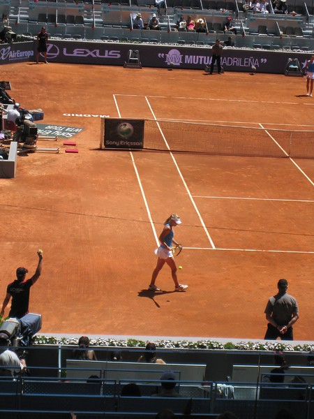 Safina and Wozniacki at Women's Final