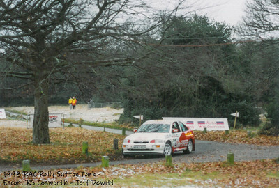 RAC Rally 1993 Sutton Park