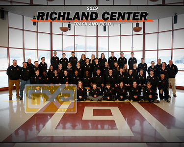 Richland Center track and field TF19