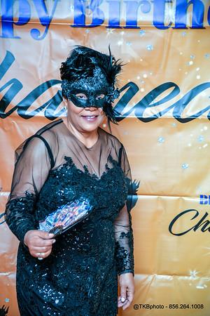 Chalnecia Davies's Birthday Masquerade Party - Backdrop Pics