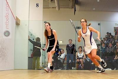 2011-02-05 Mimi Bell (Amherst) and Michaela Martin (Bowdoin)