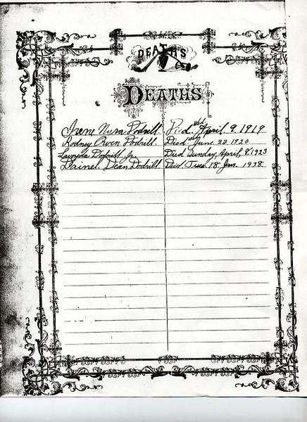 Deaths copied from Grandma Dodrills bible.jpg