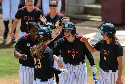 FSU Softball v UNC March 24 2013